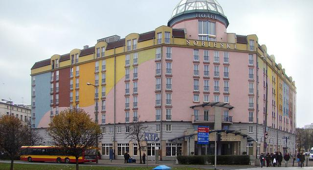 Hotel Sobieski przy placu Zawiszy