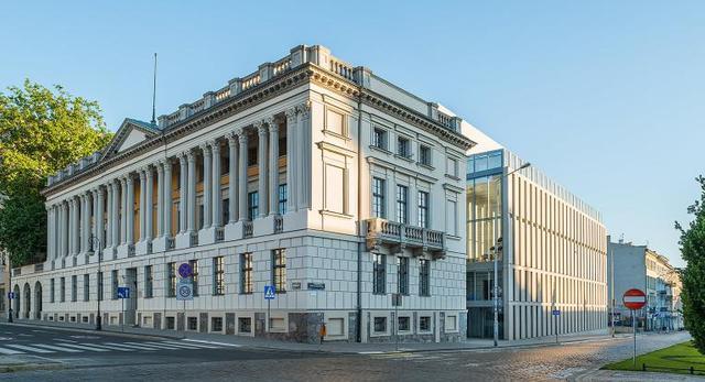 Biblioteka Raczyńskich w Poznaniu, modernizacja i rozbudowa wg projektu JEMS Architekci