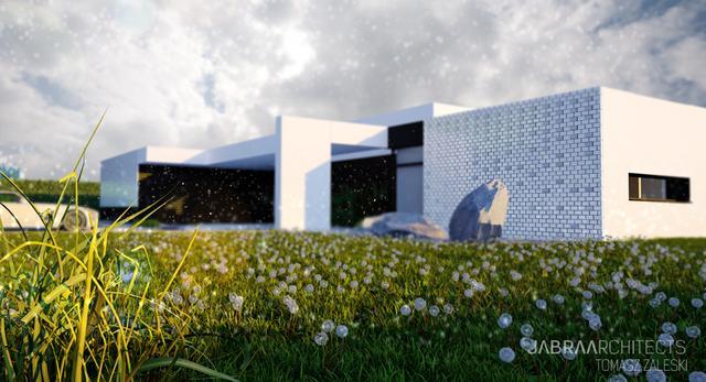 Współczesna architektura Śląska: dom w Żłobiźnie
