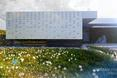 Elewacja z glazurowanej cegły, bryła domu pod Wrocławiem projektu JABRAARCHITECTS