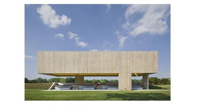 Pawilon Webb Chapel w Dallas projektu Cooper Joseph Studio