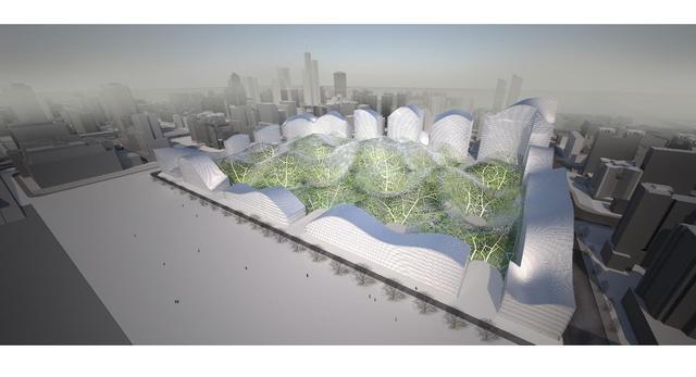 """Projekt """"Bubbles"""" autorstwa pracowni ORPROJECT z Londynu"""