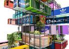 Bryła HIVE-INN – kontenery z recyklingu zaprojektowane jako nowoczesny hotel modułowy