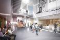 Architektura wnętrz nowej szkoły zawodowej w Danii