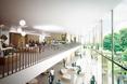 Architektura wnętrz nowej szkoły w Danii: mnóstwo naturalnego światła, przeszklenia, naturalne materiały