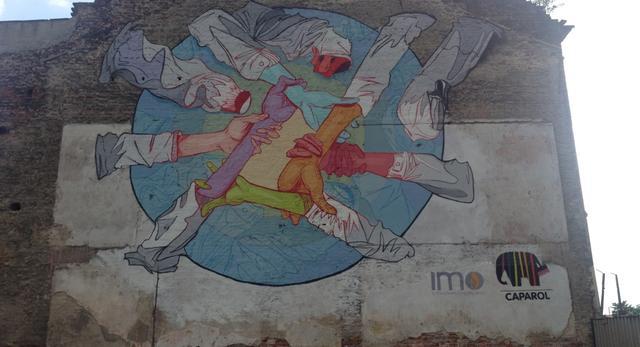 Nowy mural na krakowskim Zabłociu