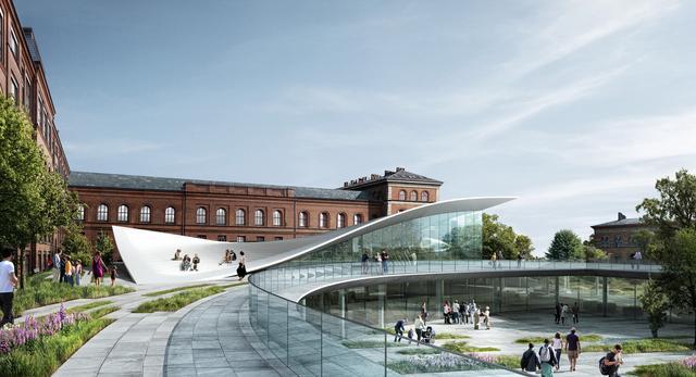 Nowe Muzeum Historii Naturalnej. Projekt Kengo Kuma we współpracy z biurem Erikia Møllera i pracownią JAJA Architects