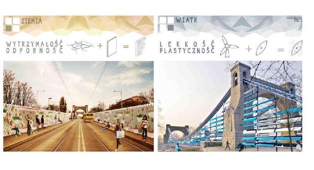 I miejsce w konkursie architektonicznym na nowy design Mostru Grunwaldzkiego we Wrocławiu