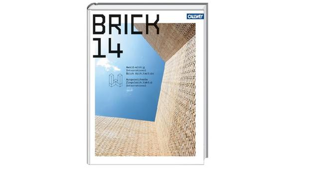 Publikacja pt. BRICK 14 - książka o współczesnej architekturze z cegły