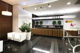 Foyer nowej architektury wnętrz dla firmy Jeronimo Martins Polska S.A