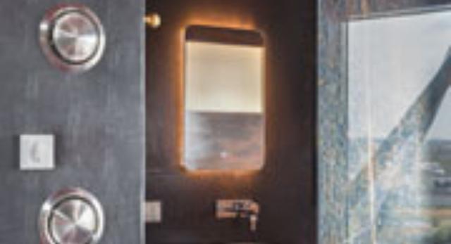 Wnętrze łazienki w Hotelu Crane w Amsterdamie