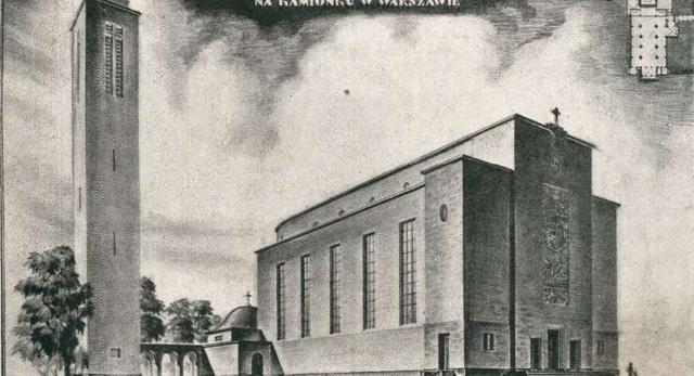 Architektura Warszawy:kościół na Kamionku
