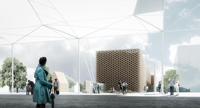 I nagroda w konkursie architektonicznym na pawilon, który pojawi się na wystawie Expo 2015 w Mediolanie  autorzy: architekci z biura 2pm