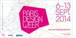 Plakat Paris Design Week 2014 - największego festiwalu designu i wzornictwa w Paryżu