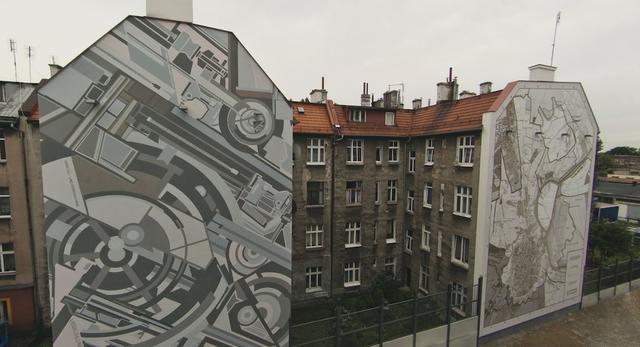 Murale na Dolnym Mieście w Gdańsku