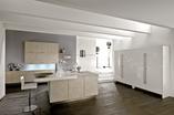 Imitujący marmur produkt Haecker AV4080 Tessina firmy Häcker w aranżacji wnętrz kuchni
