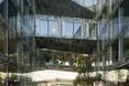 Łaczniki komunikacyjne - Kompleks Allianz Headquarters autorstwa Wiel Arets Architects