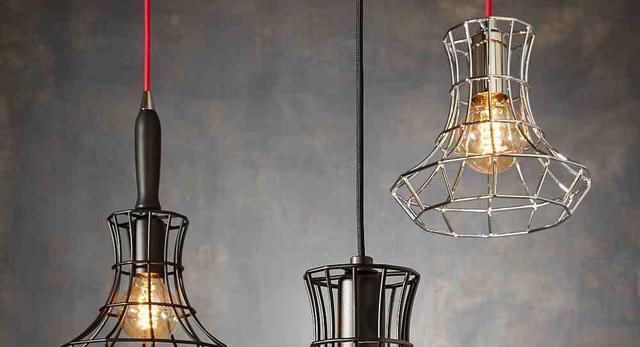 Współczesna architektura wnętrz - lampa Lady Cage do loftu