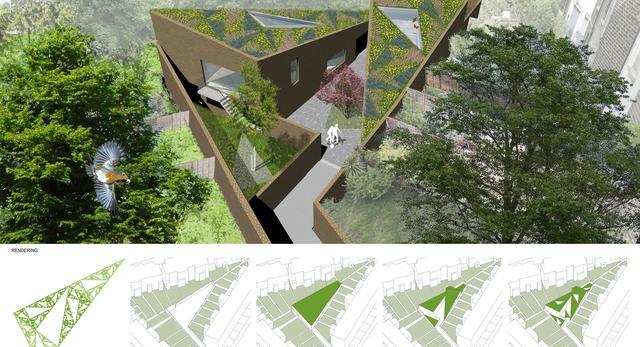 Koncepcja Ott's Yard autorstwa londyńskiej pracowni architektonicznej vPPR Architects