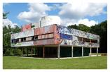 Villa Savoye Le Corbusiera - przeróbka artystyczna wg. Xaviera Delory