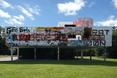 Północno - wschodnia elewacja. Villa Savoye Le Corbusiera - przeróbka artystyczna wg. Xaviera Delory