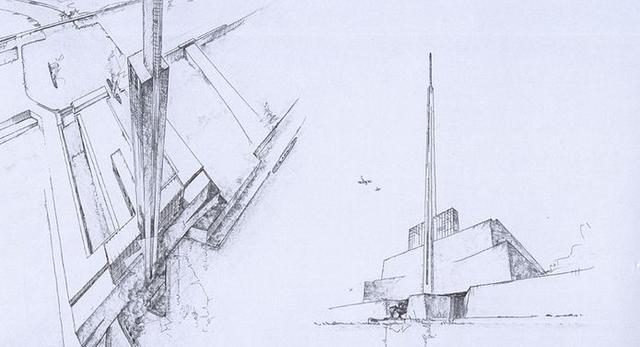 Peter Behrens, Antaltropa. Utopijna architektura modernizmu