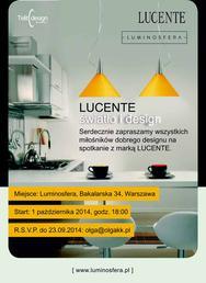 Lumionosfera - zaproszenie Lucente