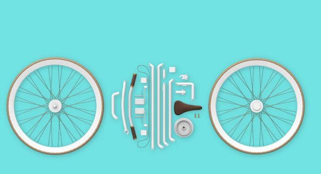 Współczesny design Indii: składany rower miejski Bike Kit