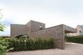 Bryła willi Moerkensheide w De Pinte w Belgii autorstwa Dieter De Vos Architecten