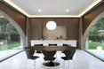 Kuchnia - willa Moerkensheide w De Pinte w Belgii autorstwa Dieter De Vos Architecten