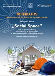 """""""Social Space"""". Konkurs architektoniczny Instytutu Lotnictwa dla architektów i studentów"""