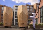 Współczesna architektura mieszkaniowa... dla pszczół! Bryła projektu pracowni architektonicznej Snøhetta