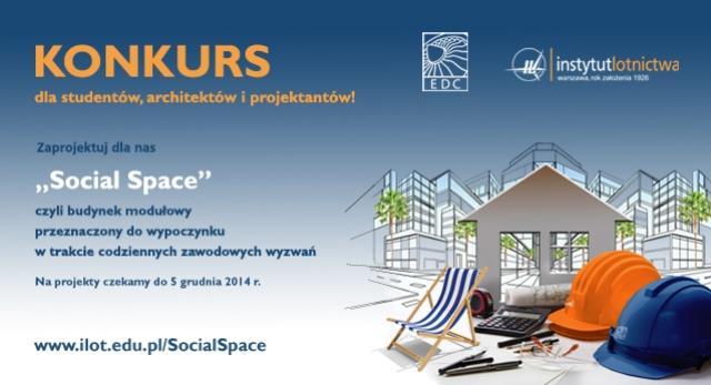 """""""Social Space"""". Otwarty konkurs architektoniczny"""