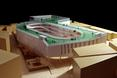 Szkoła podstawowa TianTai No.2 w Chinach - makieta bryły  autor: biuro architektoniczne LYCS z Hong Kongu