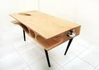 CATable – designerski drewniany mebel i gadżet dla kota w jednym