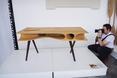 Designerski stół CATable na wystawie Milan Design Week  fot. MILAN DESIGN WEEK