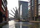 Spektakularna bryła mostu w Londynie. Kładka składa jak japoński wachlarz!