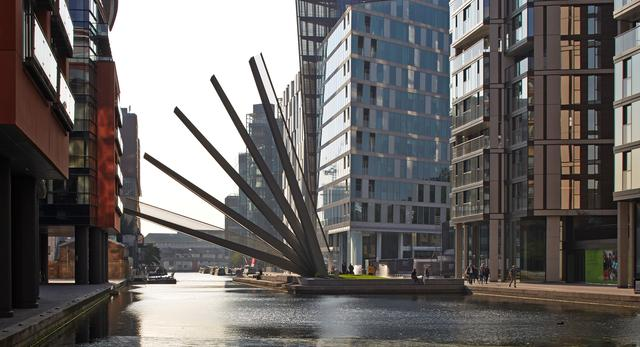 Most w Paddington, Londyn autorstwa pracowni architektonicznej Knight Architects