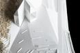 Makieta muzeum malarstwa Changa Ucchina w Korei wygląda jak makieta w skali 1:1  autor: Chae–Pereira Architects
