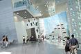 Bryła CUBE BIOINFORMATICS CENTRE dla Hong Kong Science Park - wizualizacja jednego z lobby  autor: TheAe Architects
