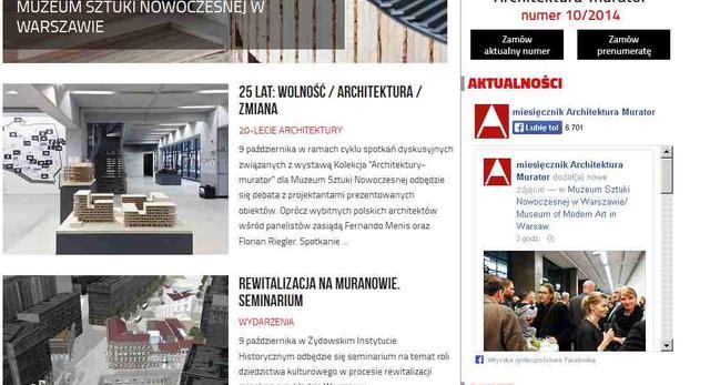Architektura-murator nowy serwis