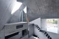 Widok na trzecią kondygnację -  dom jednorodzinny w Abiko, Japonia  autor: pracownia architektoniczna fuse-atelier