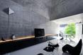 Salon -  dom jednorodzinny w Abiko, Japonia  autor: pracownia architektoniczna fuse-atelier