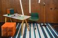 Miękkie bryły siedzisk poprawiają właściwości akustyczne wnętrza