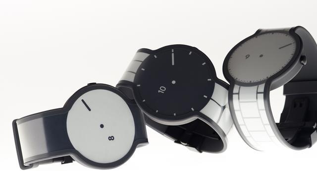 Minimalistyczny design zegarka FES Watch  autor: TAKT PROJECT design