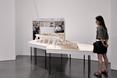 """Oskar Hansen - Forma Otwarta"", wystawa w Museu d'Art Contemporani de Barcelona, 2014, fot. Simone De Iacobis"