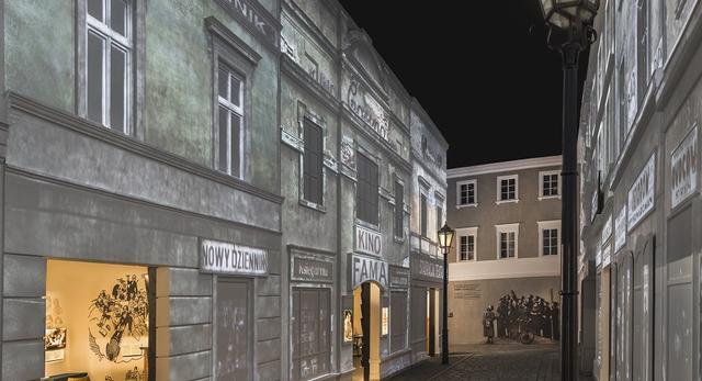 Galeria Na żydowskiej ulicy - Muzeum Historii Żydów Polskich POLIN  fot. M. Starowieyska, D. Golik