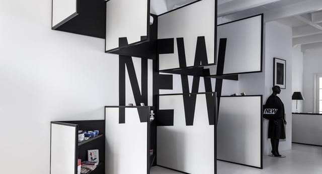 Sklep odzieżowy SHOP 03 w Amsterdamie- kolejna odsłona butiku dla marki FRAME STORE - kolejny imponujący efekt 3D  autor: i29 interior architects
