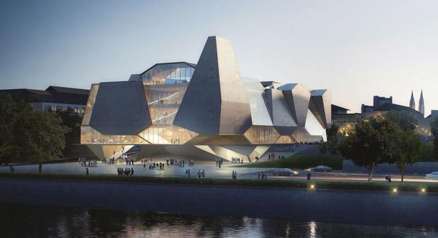 Dom Muzyki Beethovena - architektura współczesna projektu UNStudio