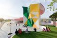 2. Factory Mérida w Badajoz, Hiszpania 2006/2011- widok bryły z bliska  autor: architekci z biura Selgas Cano w Hiszpanii, twórcy Serpentine Gallery Pavilion 2015